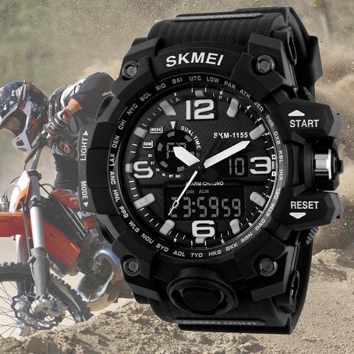 relógio skmei original modelo 1155 prova d'água c/ cx e nota