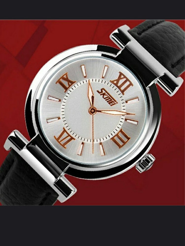 relógio skmei original resisten água feminino promoção preto
