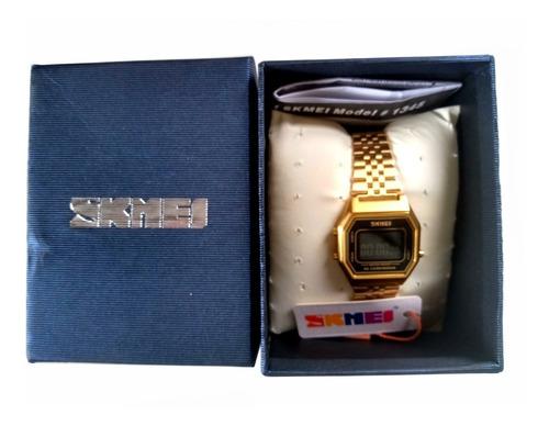 relógio skmei vogue - vintage - mulheres ou infantil - caixa