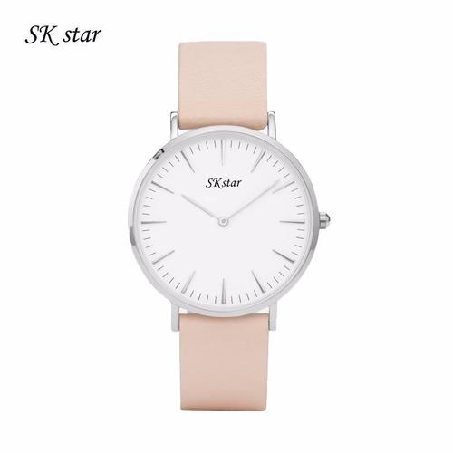 relógio skstar modelo dw unissex sk star moda fashion