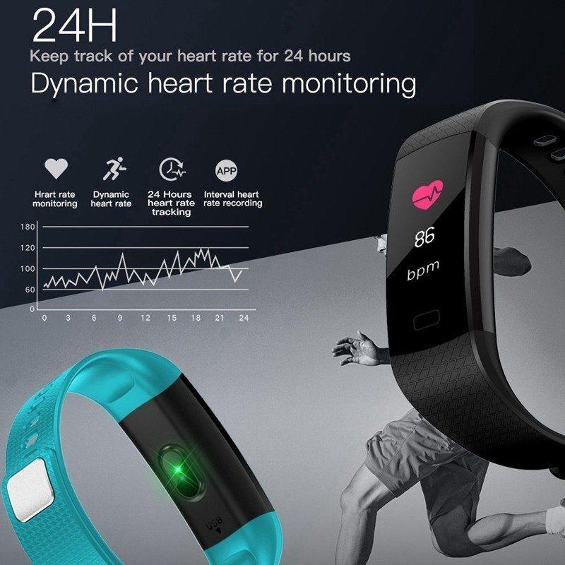 Relógio Smart Bracelet Unleash Your Run