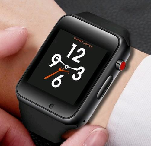 relógio smart watch bluetooth m3 android ios samsung sony lg