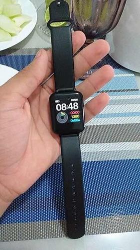 relógio smart watch inteligente fit presão arterial b57