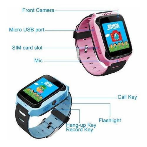 relógio smart watch kids little sos phone gps câmera
