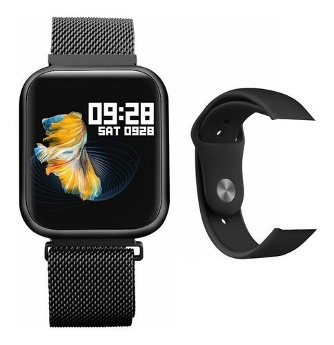 relógio smart watch oled pro p70 band inteligente preto