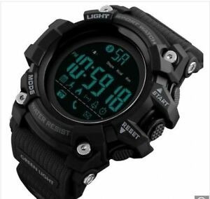 relógio smart watch skmei digital bluetooth- black