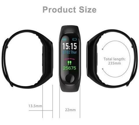relogio smartband monitor relógio