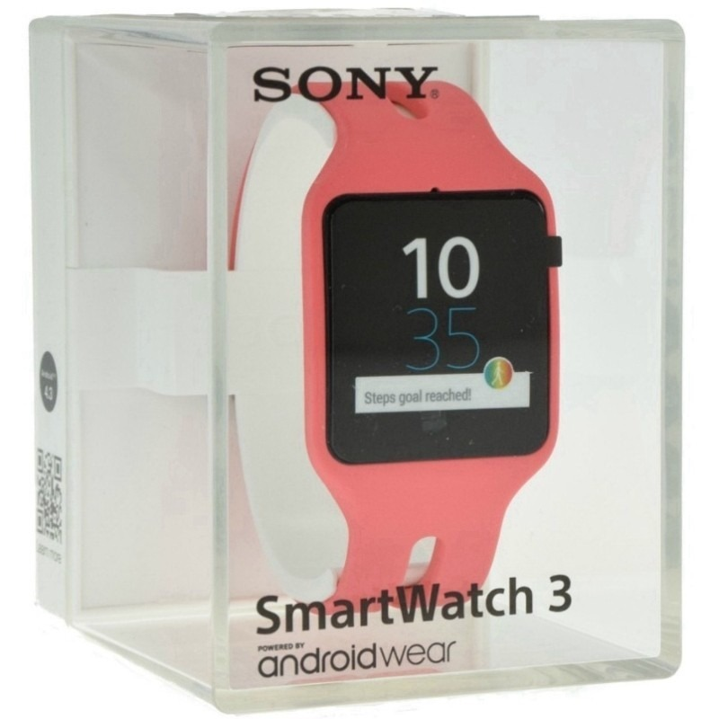 0b69fb3a613 relogio smartwatch 3 sony swr50 nfc bluetooth ip68 android w. Carregando  zoom.