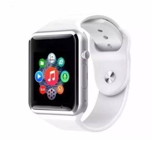 relógio smartwatch a1 original touch gear chip branco