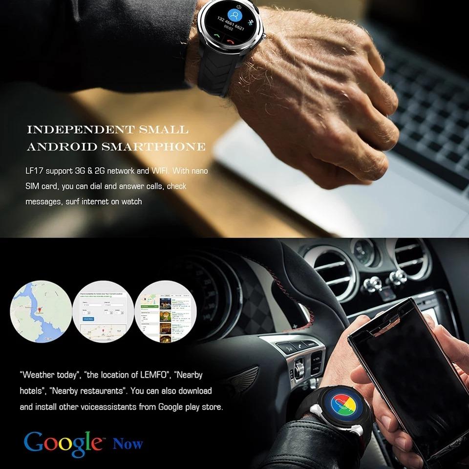 Relógio Smartwatch Android Wifi App Store Whatsapp Gps