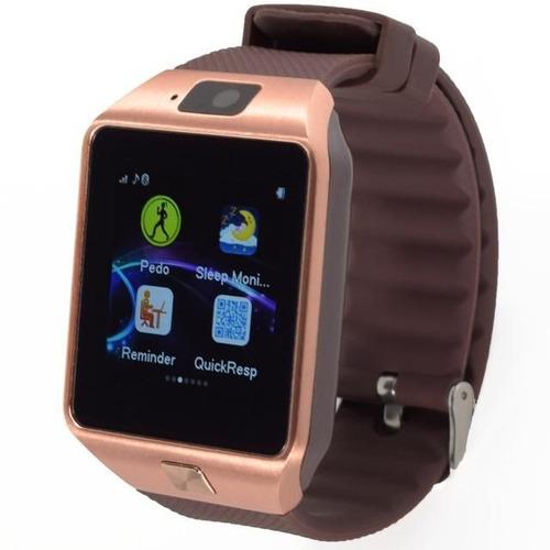 962d9b8353e Relógio Smartwatch Cawono Telefone