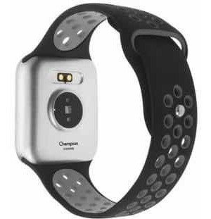 relógio smartwatch champion cinza