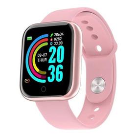 Relógio Smartwatch D20 Batimento Cardíaco Monitor Saúde Fit