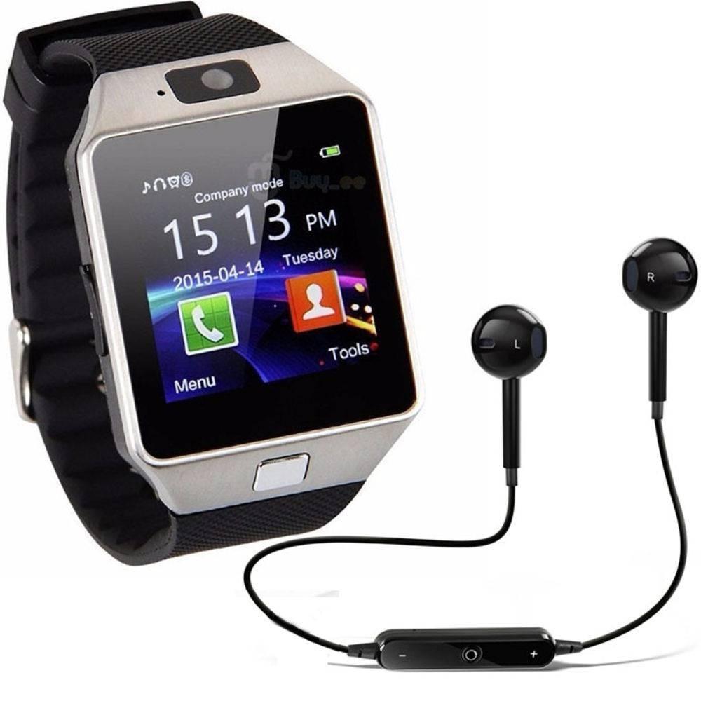 c835635b0af relógio smartwatch dz09 e fone bluetooth - original touch bl. Carregando  zoom.