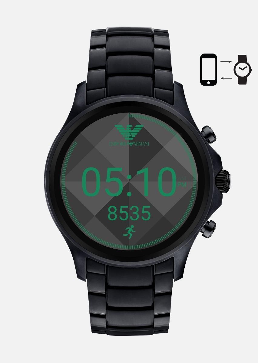 de77fe7eae6 relógio smartwatch emporio armani touchscren digital art5002. Carregando  zoom.