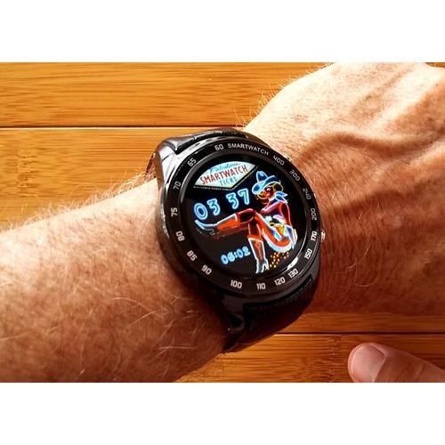 Relógio Smartwatch Finow Q7 Plus Preto Completo C/ Brinde