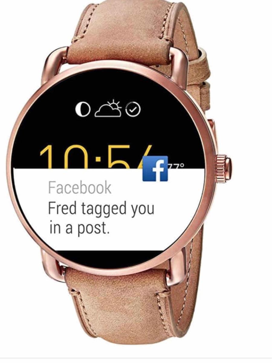 dfb7e1e1524 relógio smartwatch fóssil gen 2 q wander novo. Carregando zoom.