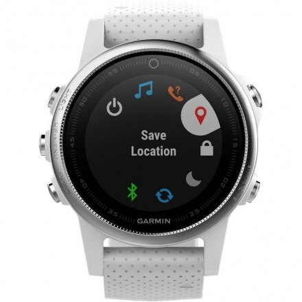 343e009ebe5 Relógio Smartwatch Garmin Fenix 5s (010-01685-00) Branco - R  4.174 ...