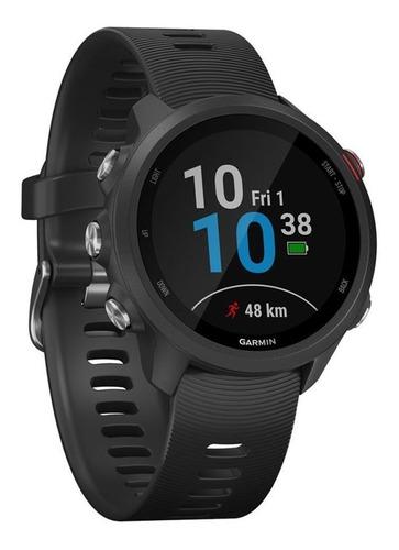 relógio smartwatch garmin forerunner 245 music + nfe