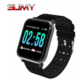 Relogio Smartwatch Inteligente A6 Corrida Batimento Cardiaco