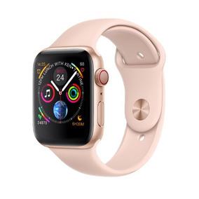 Relogio Smartwatch Iwo 8 Plus 44mm Iwo 8 Rose Gold + Brindes