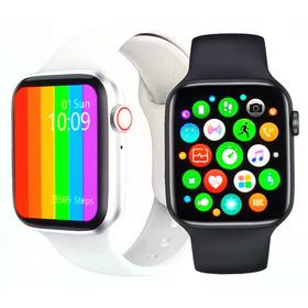 Relógio Smartwatch Iwo W26 Troca Pulseira Faz Ligação Novo