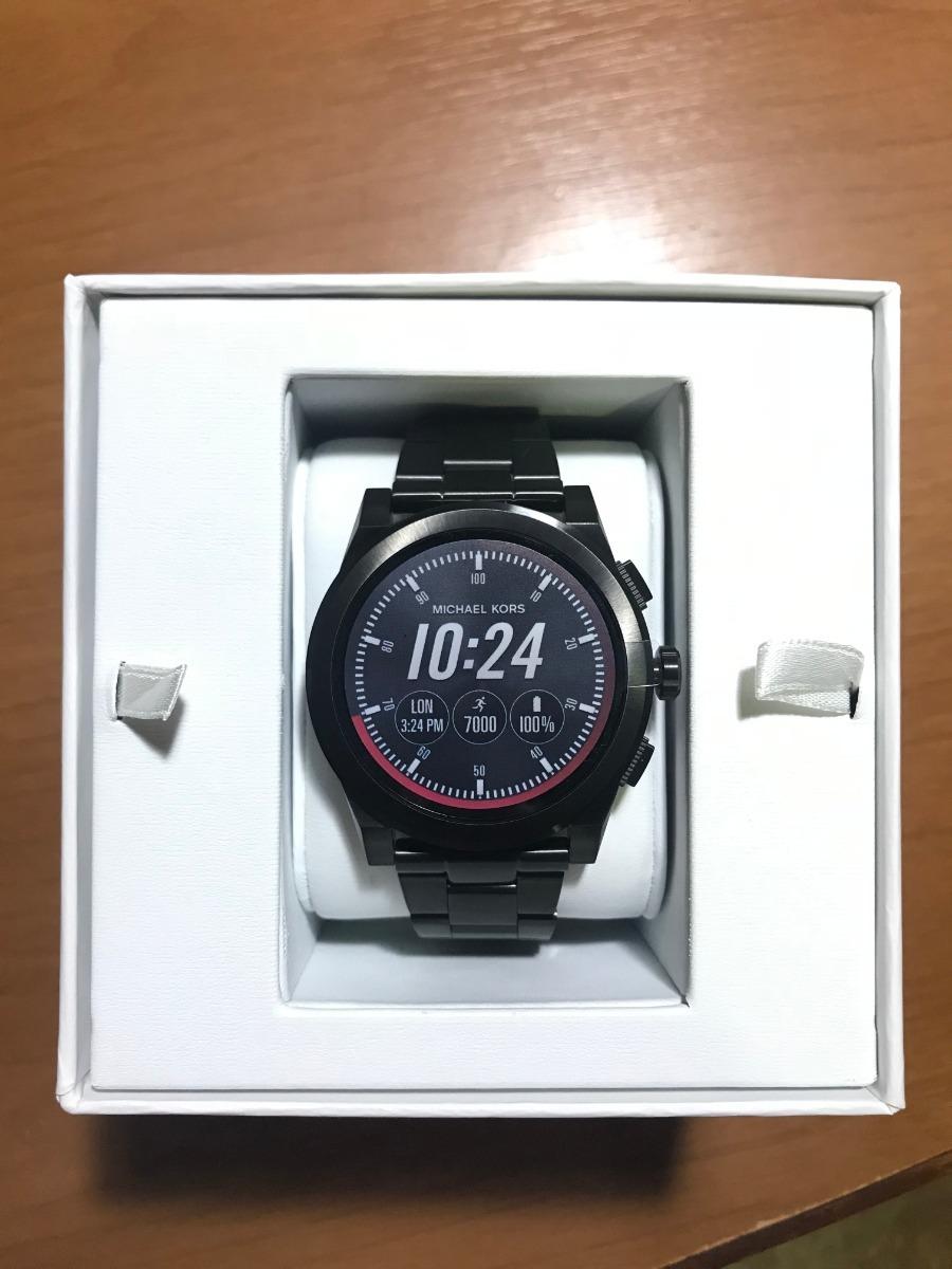 73f229d5a56c0 relógio smartwatch michael kors acess mkt5029 touchscreen. Carregando zoom.