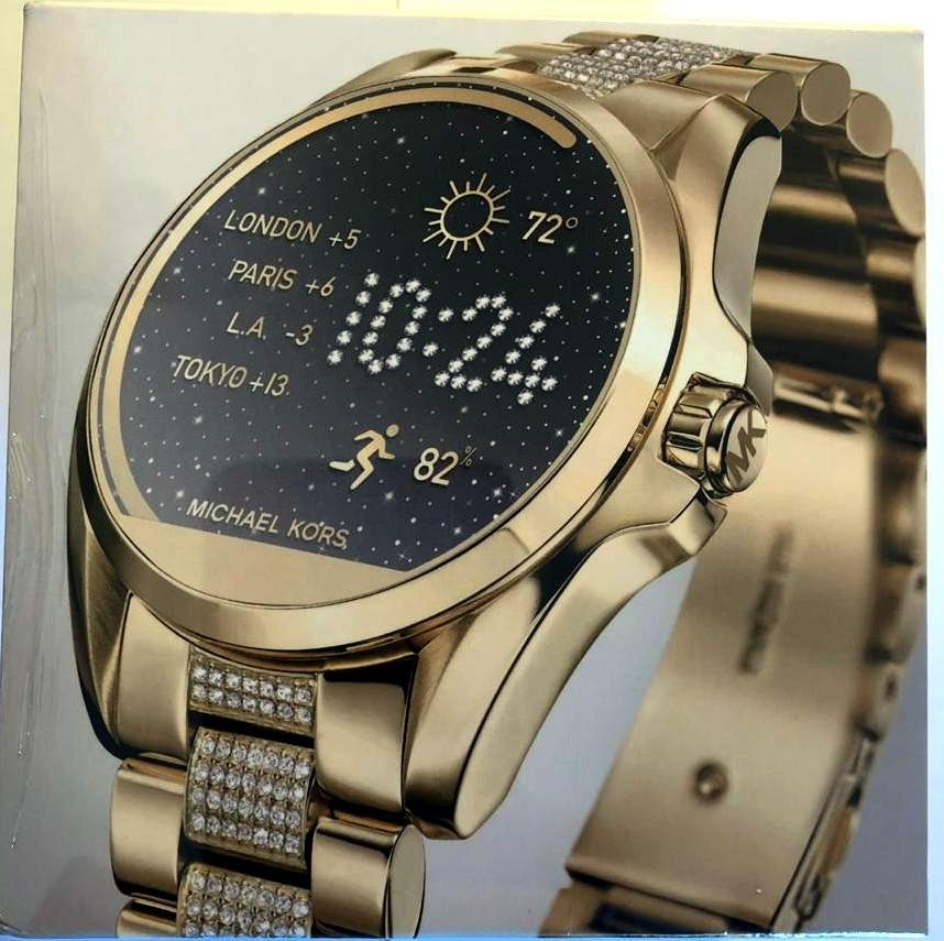 390b5bb2cb216 relogio smartwatch michael kors mkt5002 ouro mkt access. Carregando zoom.