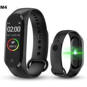 Relogio Smartwatch Pulseira Inteligente M4 Novo Bluetooth