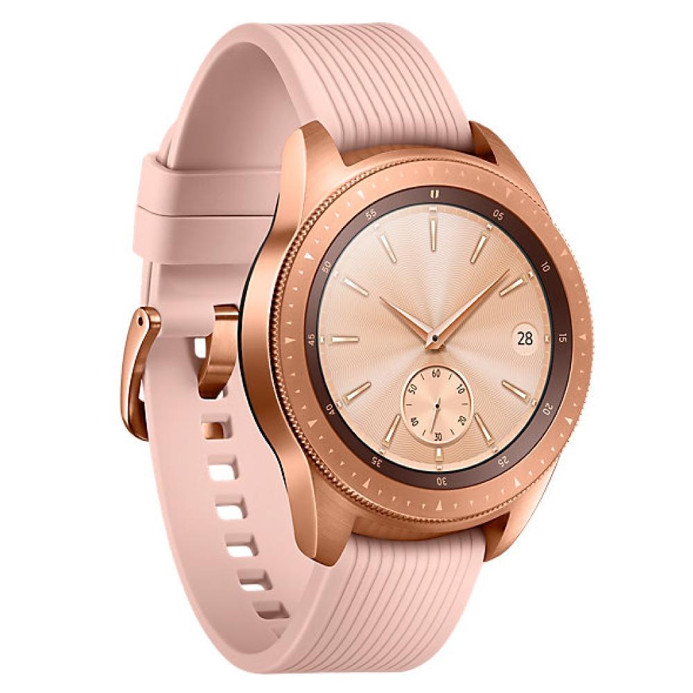 c4b8fe8df99 relógio smartwatch samsung galaxy watch bt r810 42mm dourado. Carregando  zoom.