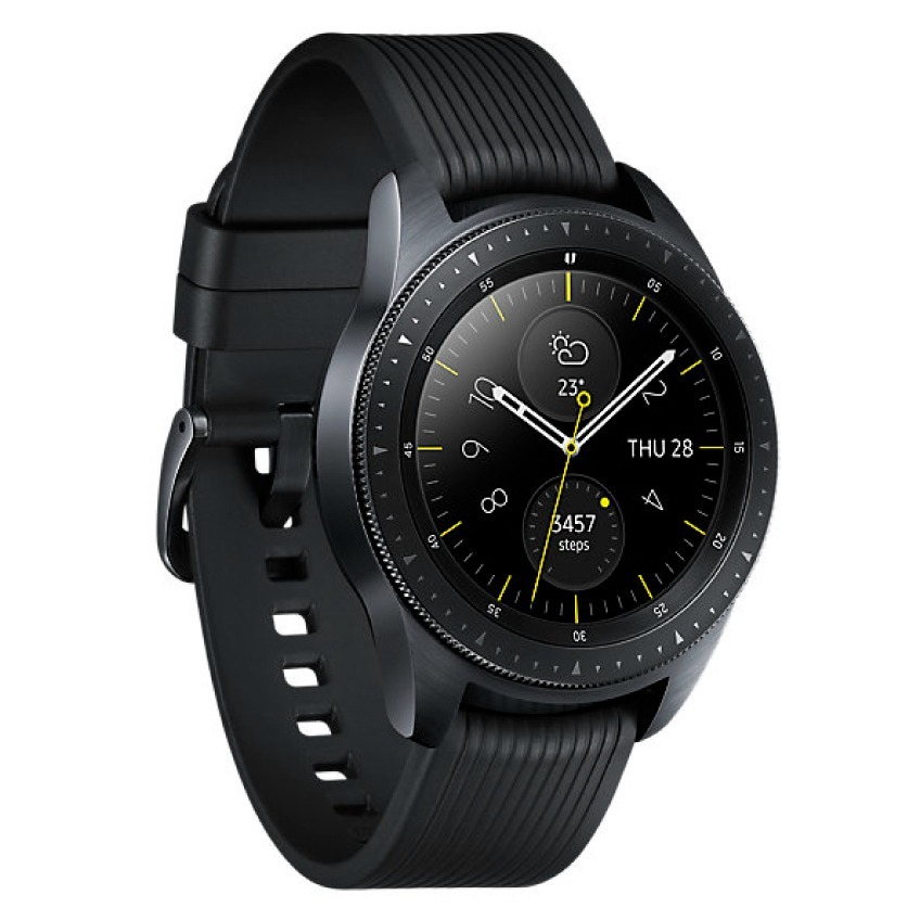 7ff79619961 relógio smartwatch samsung galaxy watch bt r810 42mm preto. Carregando zoom.