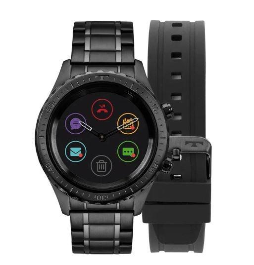 Relógio Smartwatch Technos Connect Duo Masculino P01ab 4p - R  1.305 ... b46a27c7fd