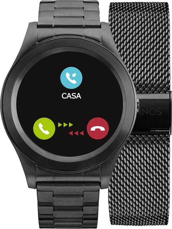 Relógio Smartwatch Technos Connect Sraf 4p + Pulseira Aço - R  1.199,00 em  Mercado Livre bb1fab4f9b