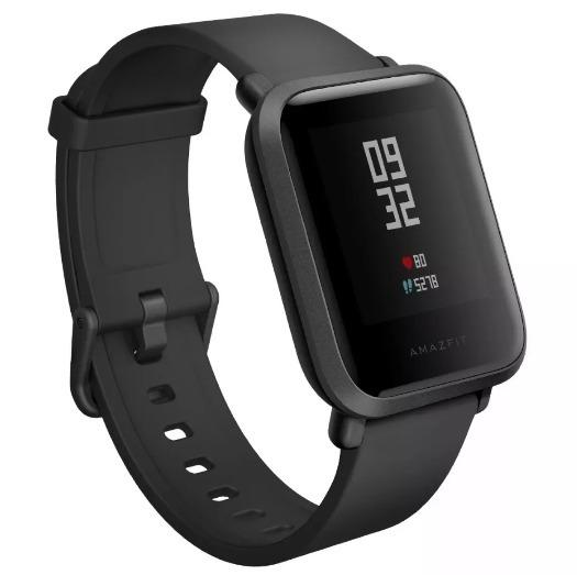 0ddf9d656c7 Relógio Smartwatch Xiaomi Amazfit Bip A1608 Global Preto - R  389