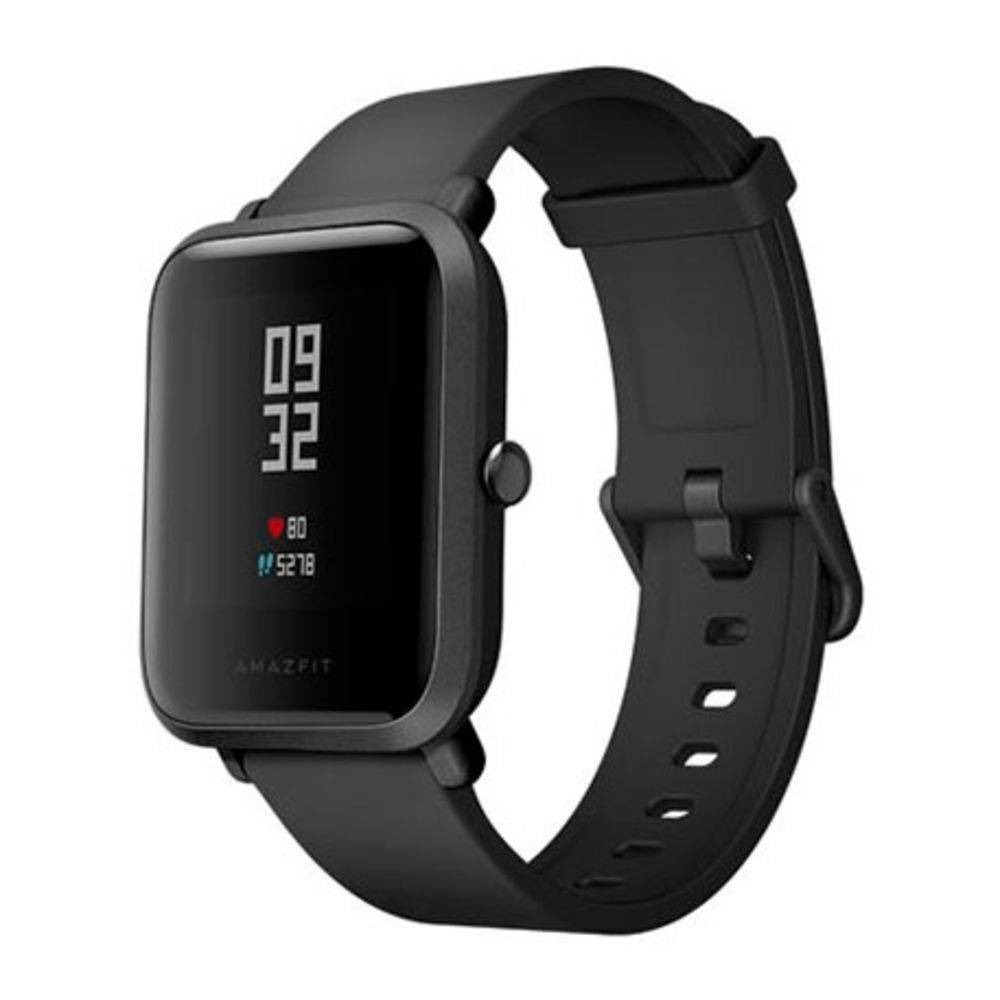 7be4a0a146a Relógio Smartwatch Xiaomi Amazfit Bip A1608 Preto Lacrado - R  393 ...