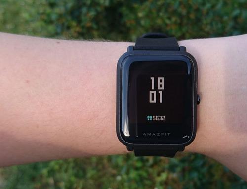 relógio smartwatch xiaomi amazfit bip pace lite global + nfe