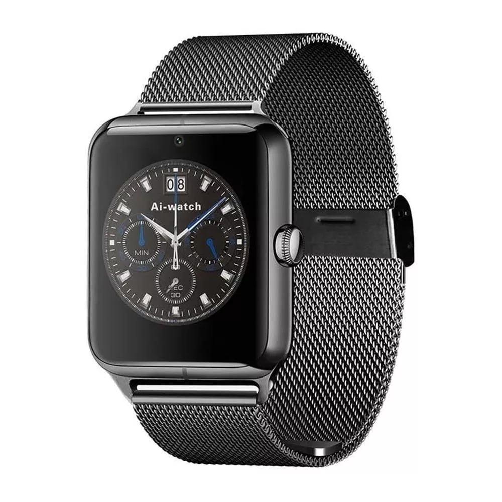 d1ade5c7c36 Relógio Smartwatch Z60 Bluetooth Celular Universal Android - R  120 ...
