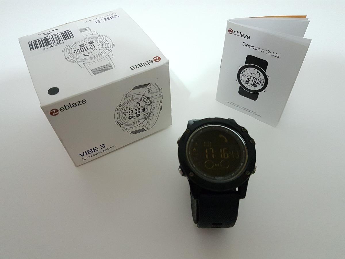 16149361bac Relógio Smartwatch Zeblaze Vibe 3