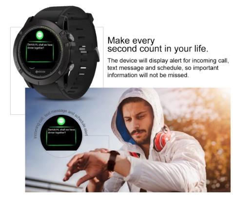 relógio smartwatch zeblaze vibe 3 hr (melhor que mi band)