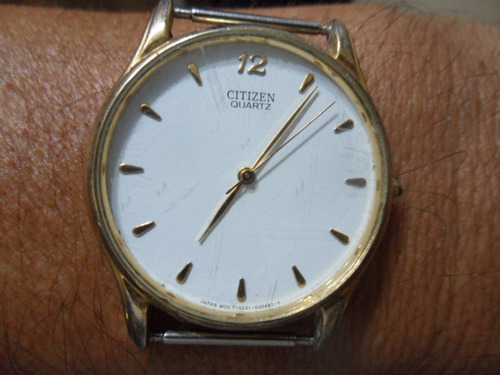 relógio social citizen extra fino japan mov 8031 original
