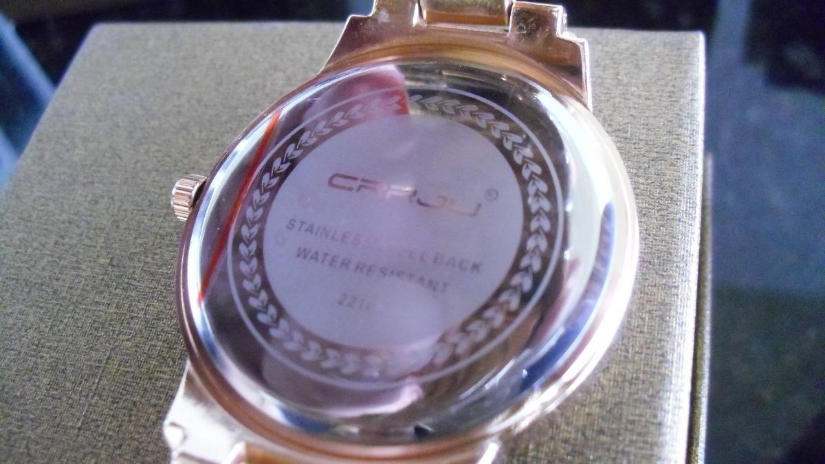3bb7ca9ec4a relógio social crrju original lindo feminino frete gratis. Carregando zoom.