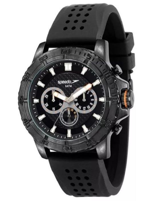 f6d64cbf521 Relógio Speedo 24858gpevpi1 Cronografo Grande Silicone - R  259 ...