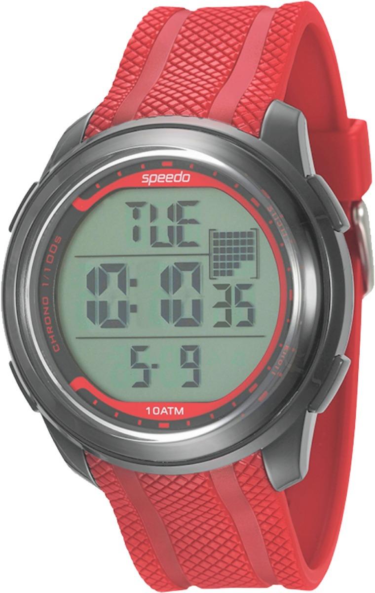 90322dd91ed relógio speedo 80593g0evnp4 pulso preto vermelho. Carregando zoom.