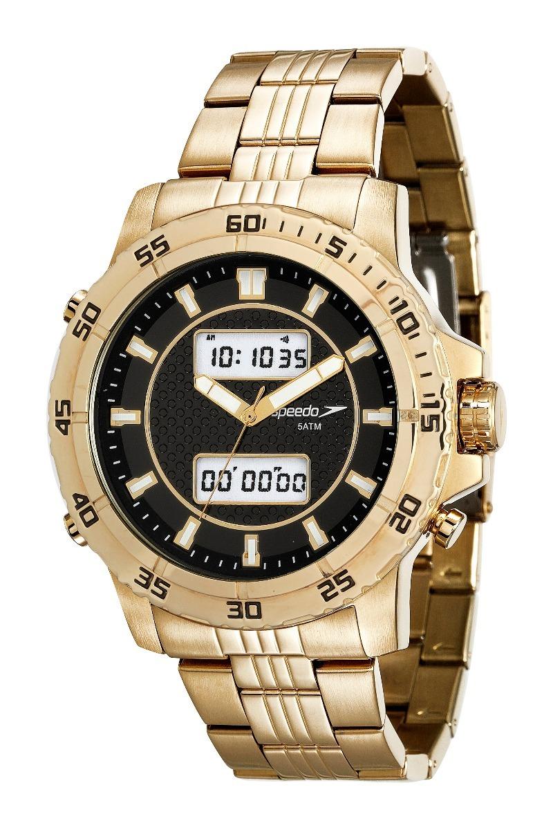 6365b16a61e relógio speedo analógico digital 24857gpevde1 - dourado. Carregando zoom.