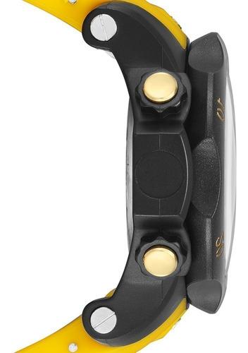 relógio speedo digital masculino amarelo 11005g0evnp6