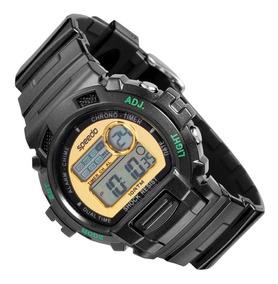 1e3afca37d21d8 Relogio Feminino Speedo Digital Dourado - Relógios De Pulso no Mercado  Livre Brasil