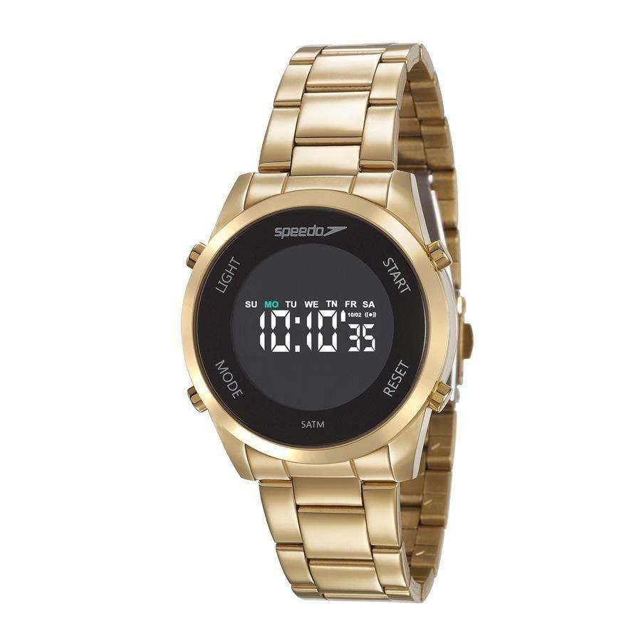3e058da20bd relógio speedo feminino ref  24860lpevds1 digital dourado. Carregando zoom.
