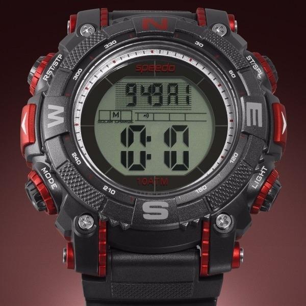 b32833916 Relógio Speedo Masculino Borracha Cronógrafo - 80576goevnp1 - R  217 ...