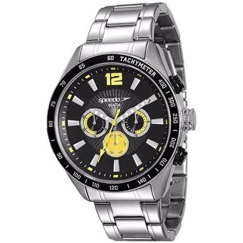 57cd60207f4 Relógio Speedo Masculino Cronógrafo Aço 64006g0egns1 10atm - R  259 ...