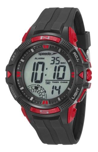 relógio speedo masculino digital  11003g0evnp1 borracha
